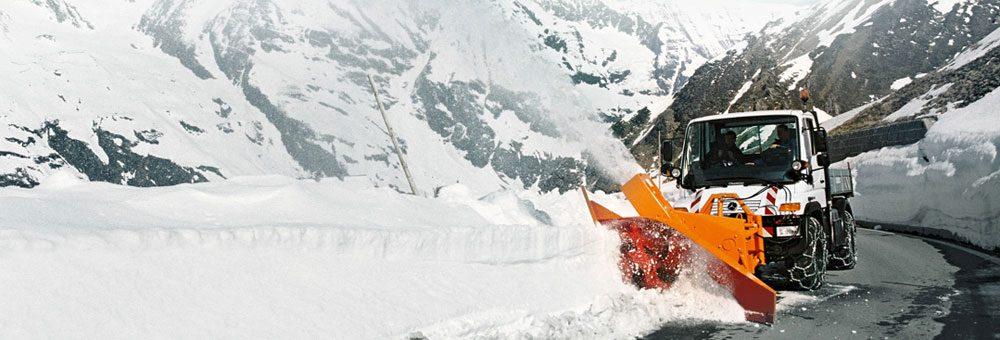 Unimog U500 Snow Cutter